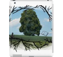 """Read The World Away"" [Transparent Fade] iPad Case/Skin"