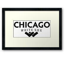 Chicago White Sox Logo Concept 2 Framed Print