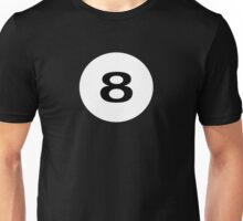 Eight Ball T-Shirt - Lucky 8 Unisex T-Shirt