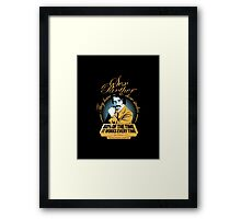 Of The Time  Framed Print