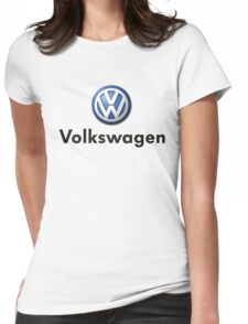 car logo Womens Fitted T-Shirt
