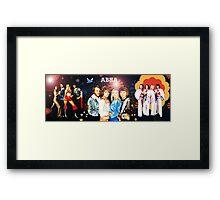 ABBA MUG number 2 (of 2) Framed Print