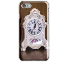 Old-fashioned Clock - Object Photography iPhone Case/Skin
