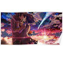 Kimi No Na Wa Hug Poster