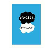Wincest - TFIOS Art Print