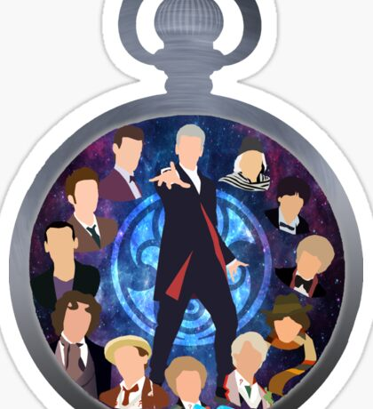 The Clock Strikes Twelve Sticker