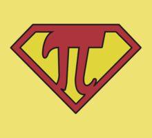 Nerd Things - Superman got Pi power Kids Tee