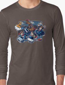 Super 80's Kart Long Sleeve T-Shirt