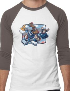Super 80's Kart Men's Baseball ¾ T-Shirt