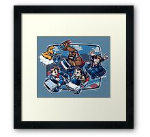 Super 80's Kart Framed Print