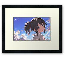 Kimi No Na Wa Mitsuha Framed Print