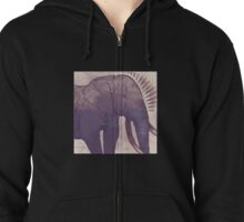 Welcome to the Desert Zipped Hoodie