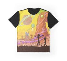 Wild Planet cartoon Graphic T-Shirt