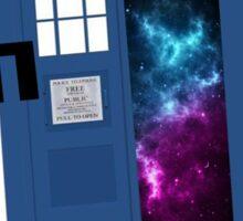 TARDIS- Let's go on an adventure #1 Sticker