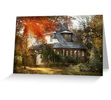 Autumn - In every fairy tale Greeting Card