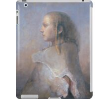 Helene in profile iPad Case/Skin