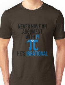 Pi is Irrational Unisex T-Shirt