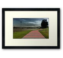 Taree take a walk 01 Framed Print