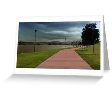Taree take a walk 01 Greeting Card
