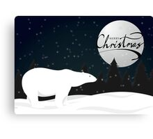 Polar Bear - Express Canvas Print