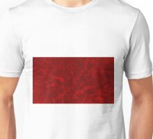 Pool Water - Bright Red Unisex T-Shirt
