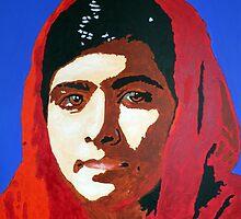 Malala Yousafzai by DJVYEATES