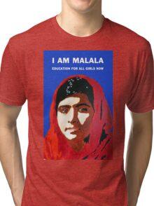 I AM MALALA Tri-blend T-Shirt