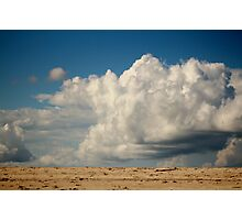 Clouds Touching Earth Photographic Print
