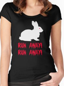 Monty Python - The Holy Grail - Killer Bunny Rabbit Women's Fitted Scoop T-Shirt