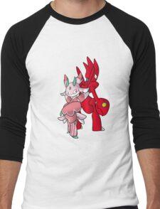 Scizor and Lurantis Men's Baseball ¾ T-Shirt