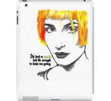 It's just a spark but it's enough to keep me going - Hayley Williams iPad Case/Skin