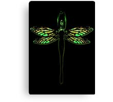 Lady Dragonfly Canvas Print