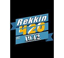 #420Rekt Photographic Print