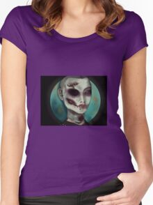 Zombie warrior Women's Fitted Scoop T-Shirt