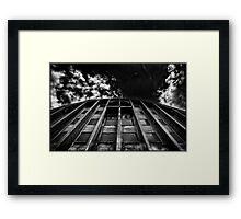 HISTORIC DOCKLAND Framed Print