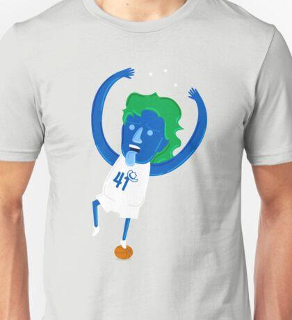 Dirk Nowitzki the Big Nimble German Baller Unisex T-Shirt