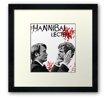 Hannibal Lecter Bloody [To be, or not to be] Framed Print