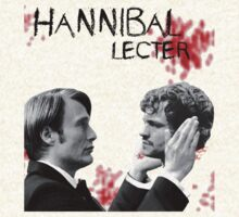 Hannibal Lecter Bloody [To be, or not to be] by thescudders