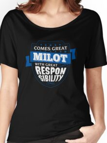 MILOT-The-Awesome Women's Relaxed Fit T-Shirt