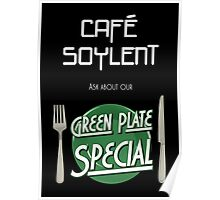 Soylent Cafe's Green Plate Special Poster
