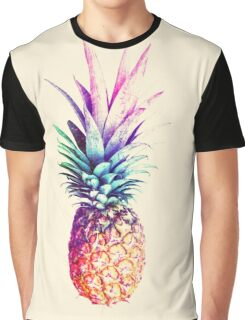 Mauve Pineapple Graphic T-Shirt