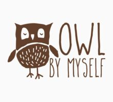 owl by myself One Piece - Short Sleeve