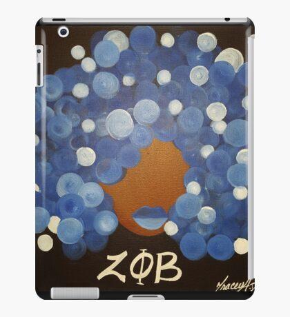 Zeta Phi Beta Diva iPad Case/Skin