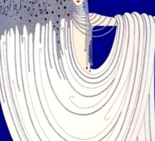"Art Deco Design by Erte ""North Sea"" Sticker"