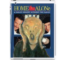 Scream Home - Home Alone Parody iPad Case/Skin