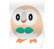 Rowlet Pokemon Sun and Moon Poster