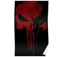 Punisher Red Skull Poster