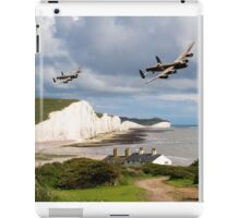 Nine Sisters - Lancasters over the south coast iPad Case/Skin