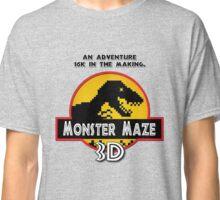 3D Monster Maze Classic T-Shirt