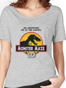 3D Monster Maze Women's Relaxed Fit T-Shirt